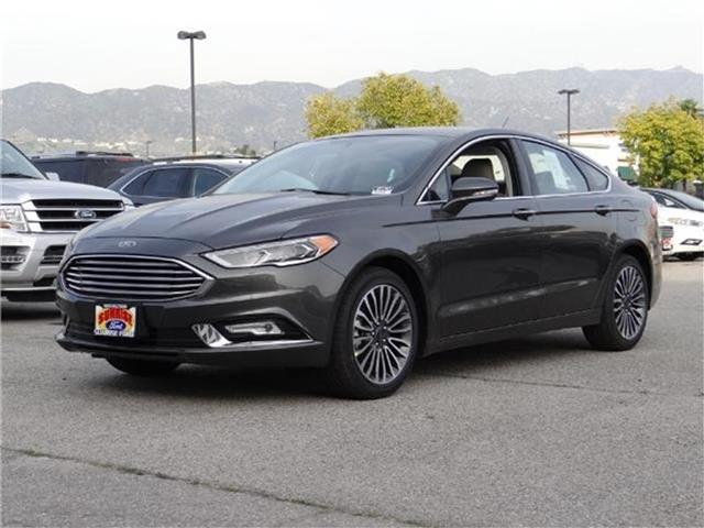 2017 Ford Fusion SE Front-wheel Drive Sedan Miles 1Color MAGNETIC METALL Stock M71461 VIN 3F