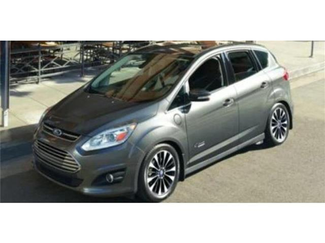 2017 Ford C-Max Energi SE Hatchback Miles 1Color RUBY RED TINTED Stock M72726 VIN 1FADP5EU1H