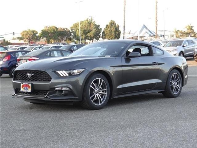 2017 Ford Mustang MUSTANG ECOBOOST COUPE Miles 1Color MAGNETIC GRAY Stock M73690T VIN 1FA6P8