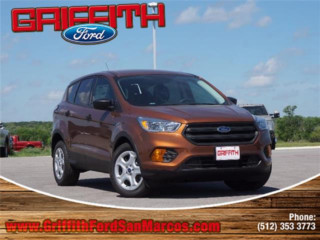 2017 Ford Escape S Front-wheel Drive Miles 10Color CANYON RIDGE ME Stock 60051N VIN 1FMCU0F7