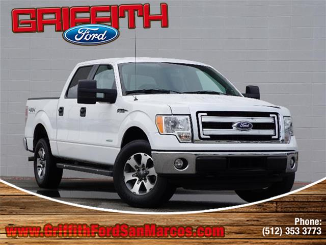 2014 Ford F-150 XLT 4x4 SuperCrew Cab Styleside 55 ft box 145 in WB 2014 F-150 XLT 4x4 SuperCre