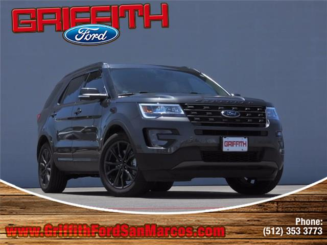 2017 Ford Explorer XLT Front-wheel Drive Miles 10Color MAGNETIC METALL Stock 90293N VIN 1FM5