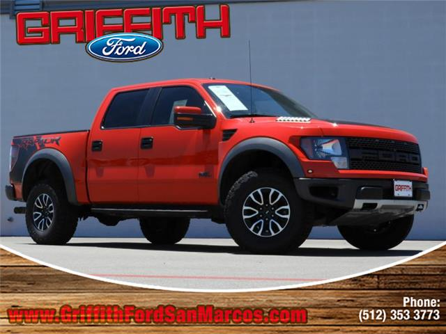 2012 Ford F-150 SVT Raptor 4x4 SuperCrew Cab Styleside 55 ft box 145 in WB This 2012 Ford SVT R