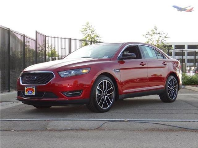 2017 Ford Taurus SHO All-wheel Drive Sedan Miles 0Color RUBY RED TINTED Stock M73575 VIN 1FA