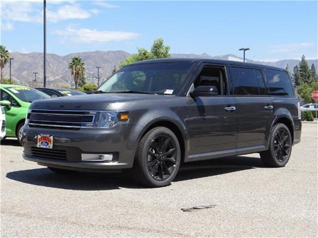 2018 Ford Flex SEL Front-wheel Drive Miles 1Color MAGNETIC METALL Stock M80028 VIN 2FMGK5C8