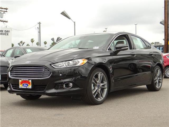 2015 Ford Fusion Titanium Front-wheel Drive Sedan Miles 1Color TUXEDO BLACK ME Stock M51690 V