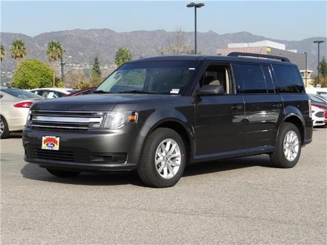 2016 Ford Flex SE Front-wheel Drive Miles 1Color MAGNETIC METALL Stock M63607 VIN 2FMGK5B83