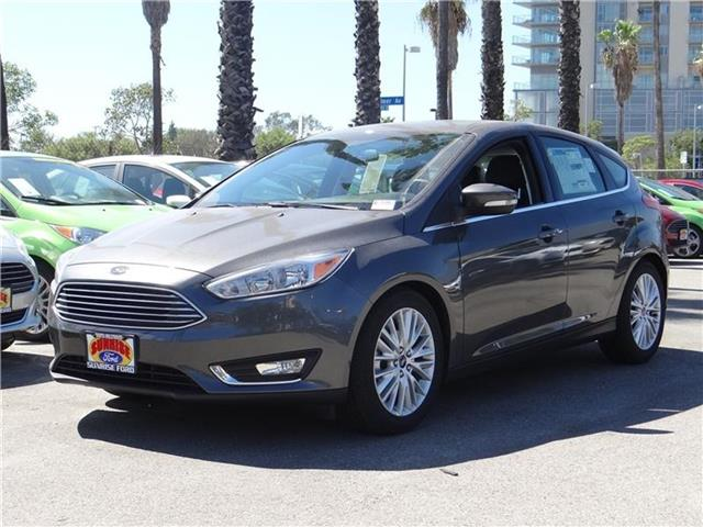 2015 Ford Focus Titanium Hatchback Miles 91Color MAGNETIC Stock M53125 VIN 1FADP3N28FL386978