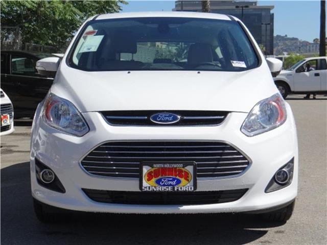 2015 Ford C-Max Hybrid SEL Hatchback Miles 1Color OXFORD WHITE Stock M52280 VIN 1FADP5BU8FL1