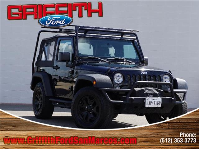 2014 Jeep Wrangler Sport 4x4 2014 Wrangler Sport 2dr 4x4 Jeep At Griffith Ford - San Marcos where