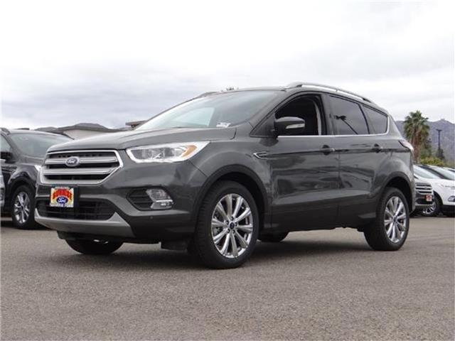 2018 Ford Escape Titanium 4x4 Miles 3674Color MAGNETIC METALL Stock M80246 VIN 1FMCU9J95JUA