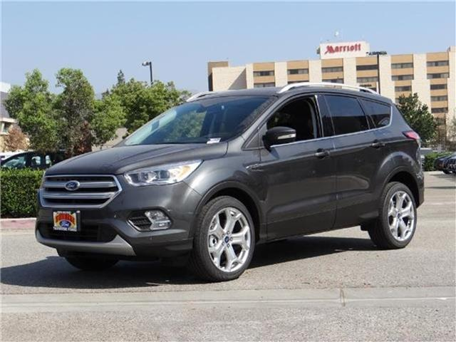 2018 Ford Escape Titanium 4x4 Miles 3674Color MAGNETIC METALL Stock M80141 VIN 1FMCU9J97JUA