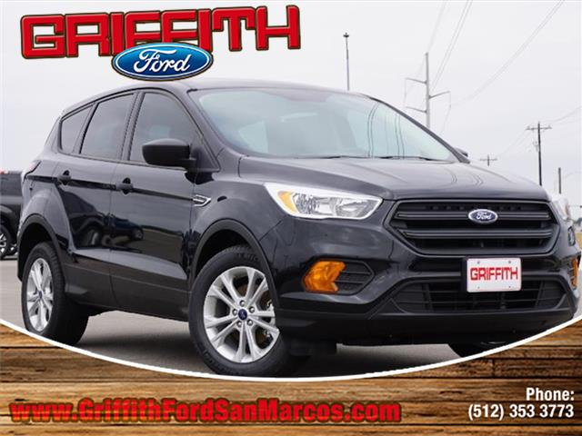 2017 Ford Escape S Front-wheel Drive Miles 20Color SHADOW BLACK Stock 00779N VIN 1FMCU0F75HU
