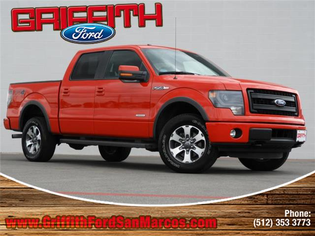 2014 Ford F-150 FX4 4x4 SuperCrew Cab Styleside 55 ft box 145 in WB 2014 F-150 FX4 4x4 SuperCre