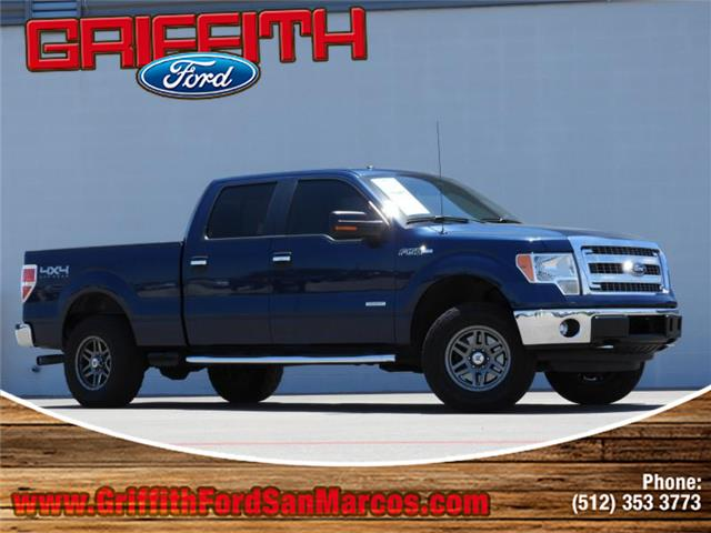 2013 Ford F-150 XLT 4x4 SuperCrew Cab Styleside 65 ft box 157 in WB Look no further this 2013 F