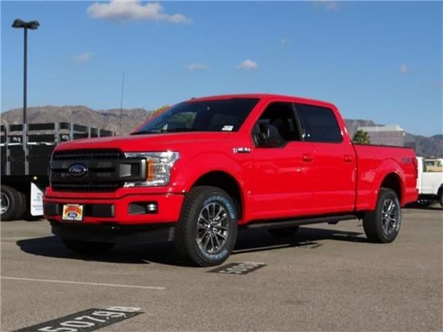 2018 Ford F-150 F150 4X4 CREW Miles 1Color RACE RED Stock M80225 VIN 1FTFW1EG7JKC64214