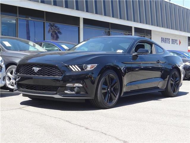 2016 Ford Mustang EcoBoost Premium Fastback Miles 94Color SHADOW BLACK Stock M62725 VIN 1FA6