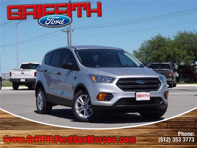 2017 Ford Escape S Front-wheel Drive Miles 67Color INGOT SILVER ME Stock 40712N VIN 1FMCU0F7
