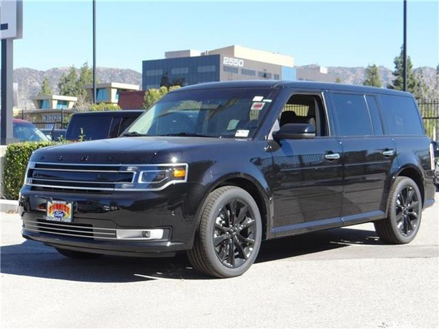 2016 Ford Flex Limited Front-wheel Drive Miles 1Color SHADOW BLACK Stock M61552 VIN 2FMGK5D