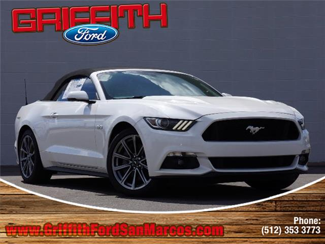 2017 Ford Mustang GT Premium Convertible Miles 14Color WHITE Stock 21358N VIN 1FATP8FF7H5221