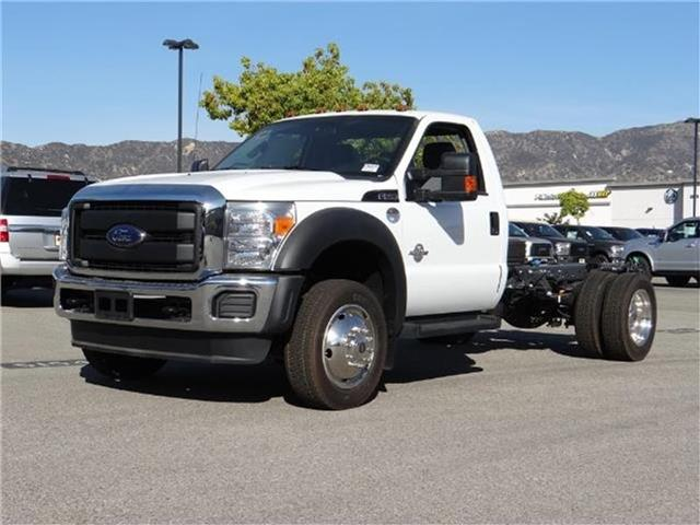 2016 Ford F-550 Chassis F550 4X2 CHASC Miles 1Color OXFORD WHITE Stock M63548T VIN 1FDUF5GT