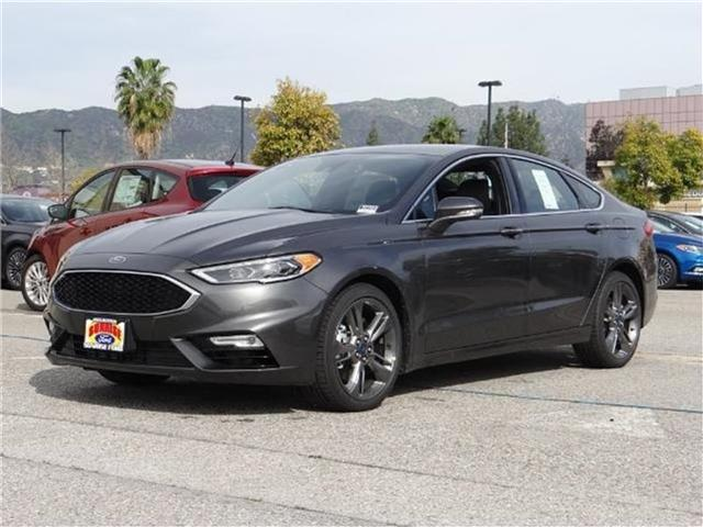 2017 Ford Fusion Sport All-wheel Drive Sedan Miles 1Color MAGNETIC METALL Stock M71544 VIN 3
