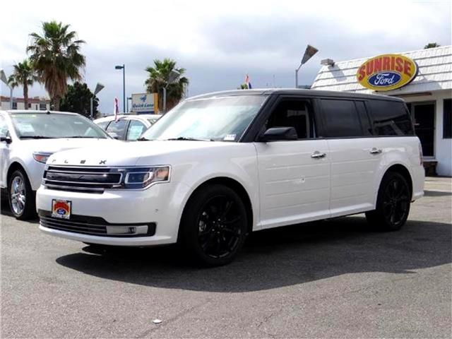 2016 Ford Flex Limited Front-wheel Drive Miles 11344Color WHITE PLATINUM Stock M61961TD VIN