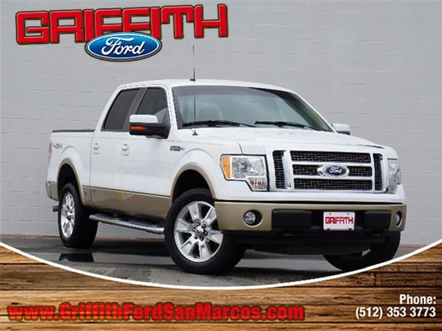 2011 Ford F-150 Lariat 4x4 SuperCrew Cab Styleside 55 ft box 145 in WB Miles 101926Color Oxfo