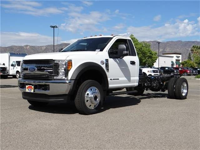 2017 Ford F-550 Chassis F550 4X4 CHASC Miles 1Color OXFORD WHITE Stock M73376 VIN 1FDUF5HT1
