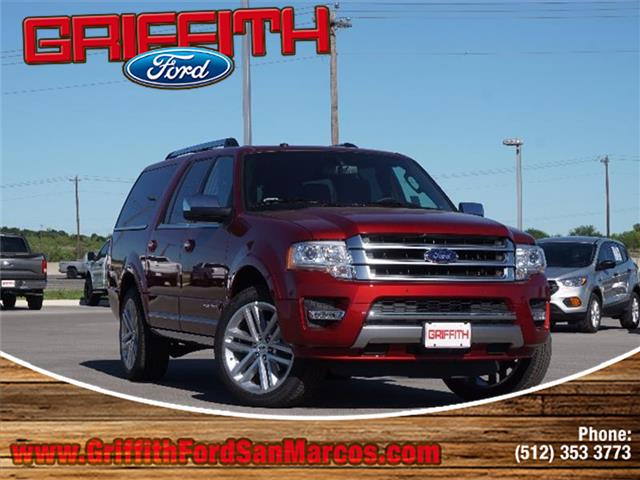 2017 Ford Expedition EL Platinum 4x2 Miles 10Color RUBY RED METALL Stock 63377N VIN 1FMJK1LT
