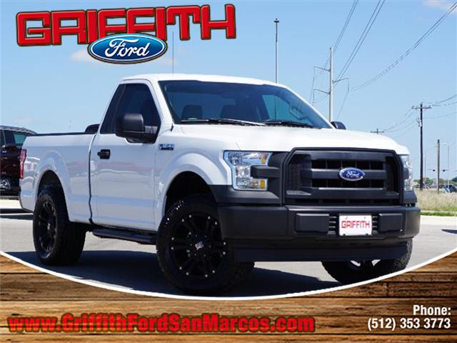 2017 Ford F-150 XLT 4x2 Regular Cab Styleside 65 ft box 122 in WB Miles 340Color Oxford White
