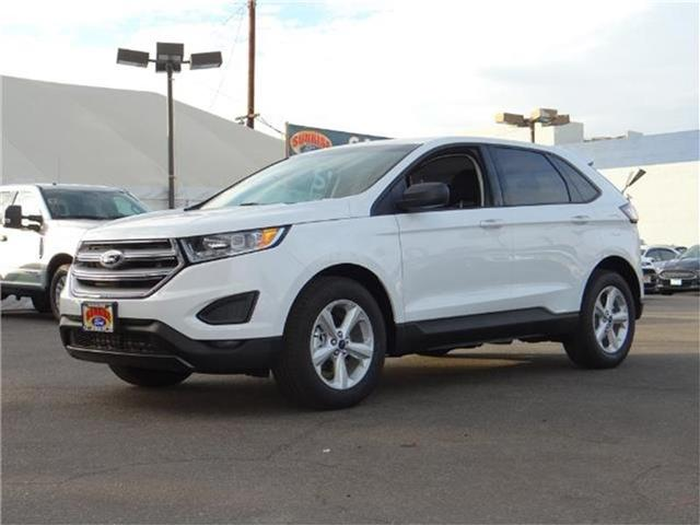 2018 Ford Edge SE Front-wheel Drive Miles 1Color OXFORD WHITE Stock M80195T VIN 2FMPK3G96JB