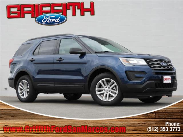 2017 Ford Explorer Front-wheel Drive Miles 10Color BLUE Stock 52233N VIN 1FM5K7BHXHGB52233