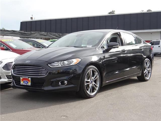 2015 Ford Fusion Titanium Front-wheel Drive Sedan Miles 1673Color TUXEDO BLACK ME Stock M51635