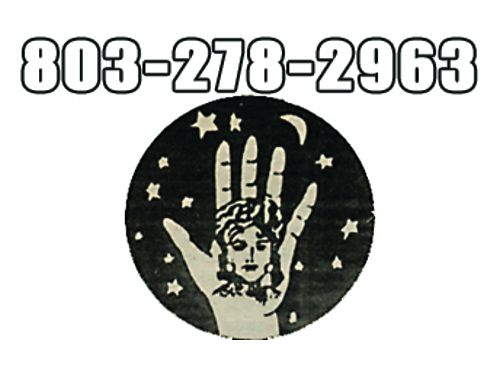 Palm  Card Reader Sister Hope Tells All Special 20 203-278-2963