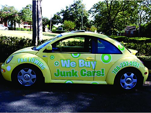 We Buy Junk Autos Free Pickup PG Auto Removal 706-251-5151