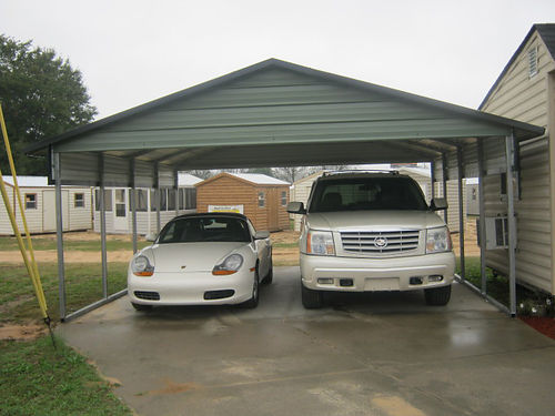 Car Port A-Frame 18x20x7 Includes 2 Gables  Side Sheet  Trim Financing Available 1700 1-888-39