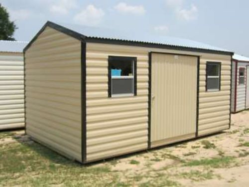 Storage Building 10x14 Americana 61 Door 1 Light 2 Windows Call for Price 1-888-398-0416