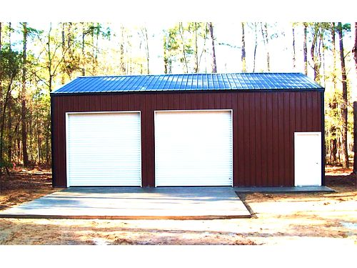 GALINA CUSTOM BUILDERS 24x36x12 2 Roll-up Doors 1 Entry Door 1 Window 866-263-3948