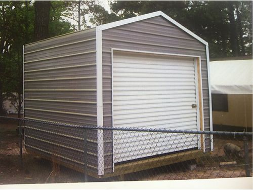 STORAGE BUILDING 10x16 Build on site We handle the permits so you dont have t