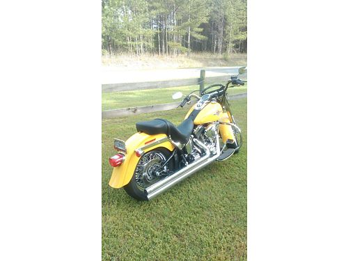2006 HARLEY FATBOY lowered VH Big Shot Longs stage 1 low profile and factory seat 80 spoke wire