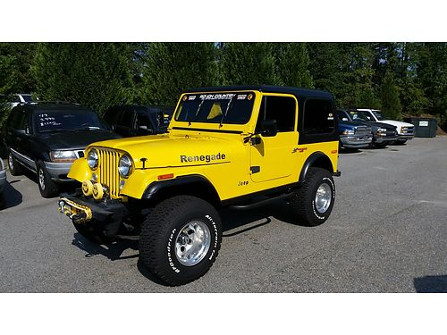 1979 JEEP CJ7 with built 304 AC Hard Top Lifted In fantastic condition 20