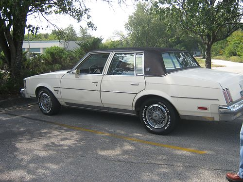 1985 OLDS CUTLASS Supreme 4dr completely overhauled 302 engine v6 runs great 4500 invested in m
