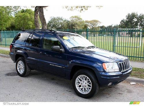 2001 JEEP GRAND CHEROKEE 4Dr Auto Blue 3995 Cash Call 855-830-1721