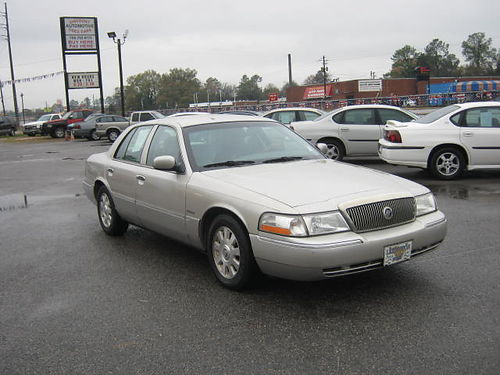 2004 MERCURY GRAND MARQUIS 4dr Auto Silver 9495 We Finance 888-640-5901
