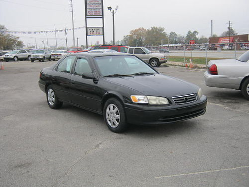 2000 TOYOTA CAMRY 4dr Auto Black 7995 888-640-5901