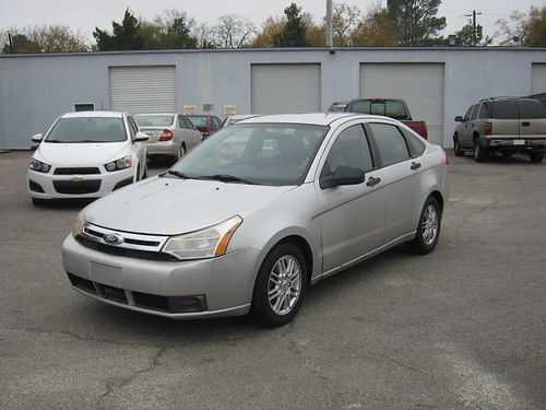 2009 FORD FOCUS 4dr Auto Silver 9995 888-640-5901