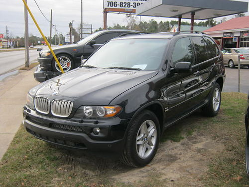 2004 BMW X5 4dr Auto Sunroof Dual Exhaust Black 7100 706-771-9510