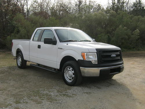 2013 FORD F150 XL 4dr Ext Cab Shortbed 71k Miles v6 All Power Bedliner One Owner Super Shar