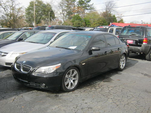 2006 BMW 550 4dr Auto Black Low Miles 9000 706-771-9510